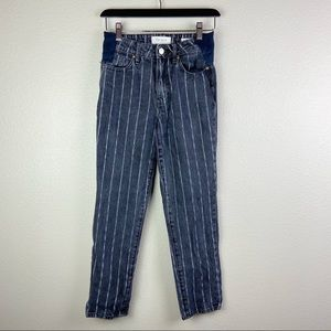 5/$35 Pacsun Striped Mom Jeans